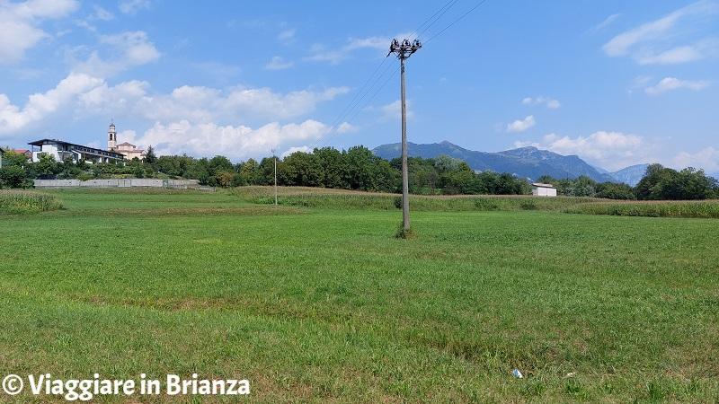 Il panorama di Calvenzana a Rogeno