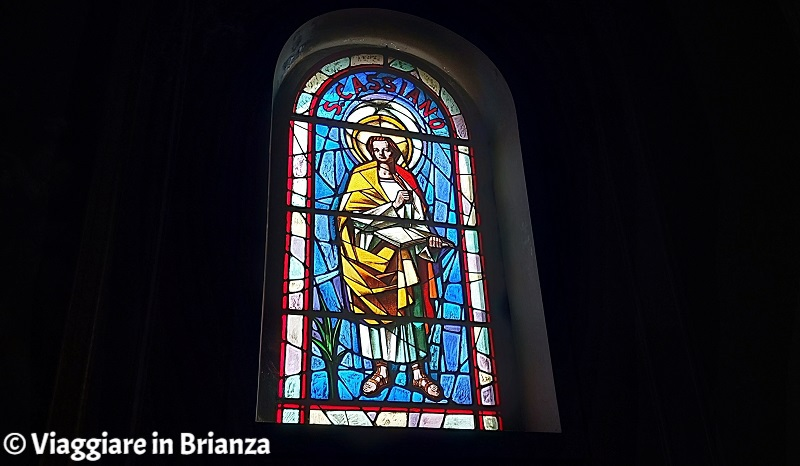 San Cassiano nella chiesa di Rogeno