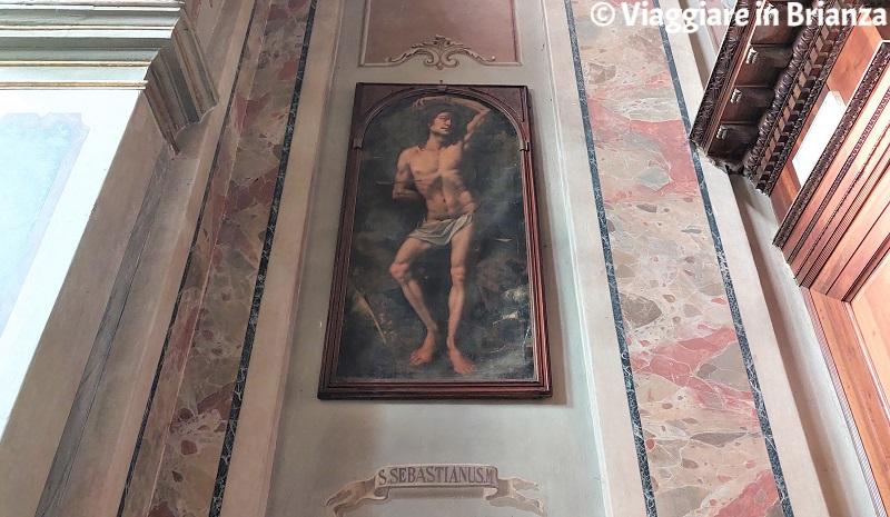 San Sebastiano nella chiesa di Rogeno