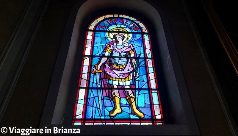 Sant'Ippolito nella chiesa di Rogeno