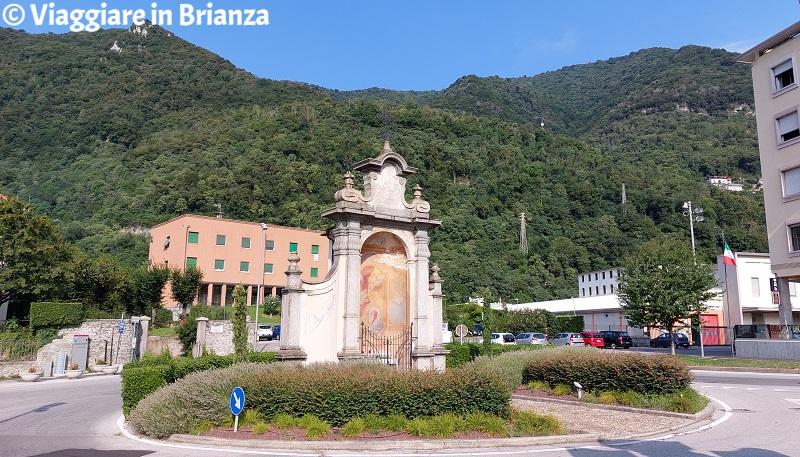La santella di Santa Caterina a Ponte Lambro