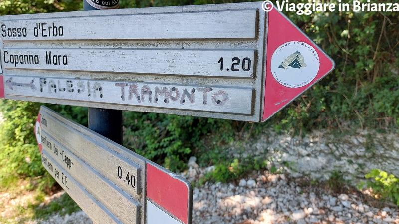 Sentiero della Dora: i cartelli segnavia