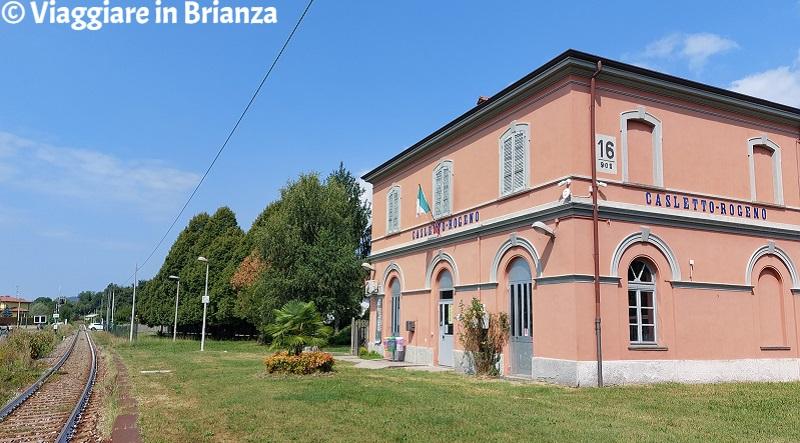 La stazione di Rogeno a Casletto