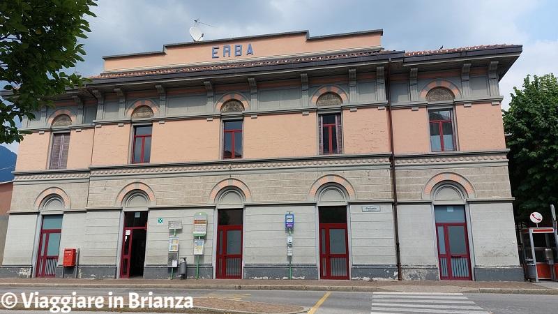 La stazione Trenord di Erba