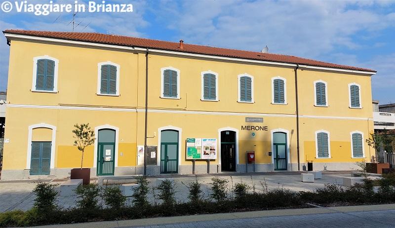 Come arrivare a Monguzzo, la stazione di Merone