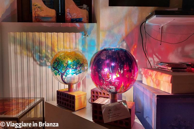 Le lampade di Carlo Brenna