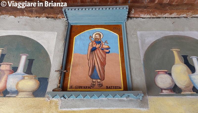 San Giovanni Battista nel Cortile degli Affreschi di Giussano
