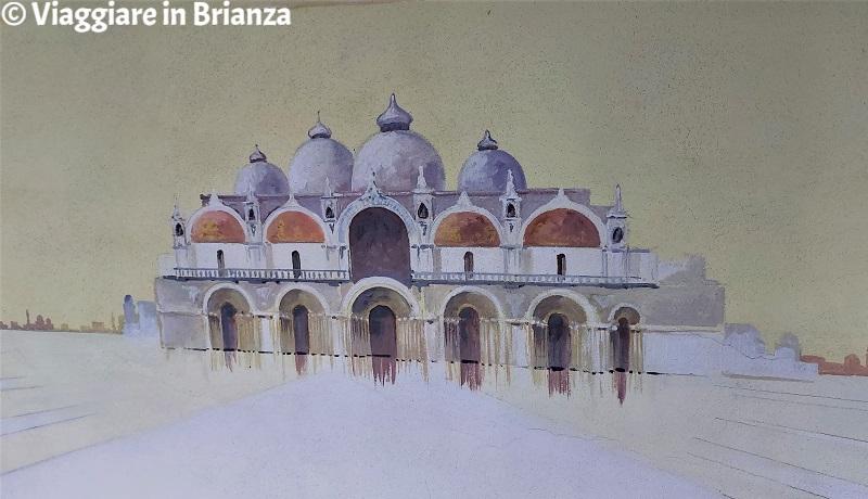 Venezia nel Cortile degli Affreschi a Giussano