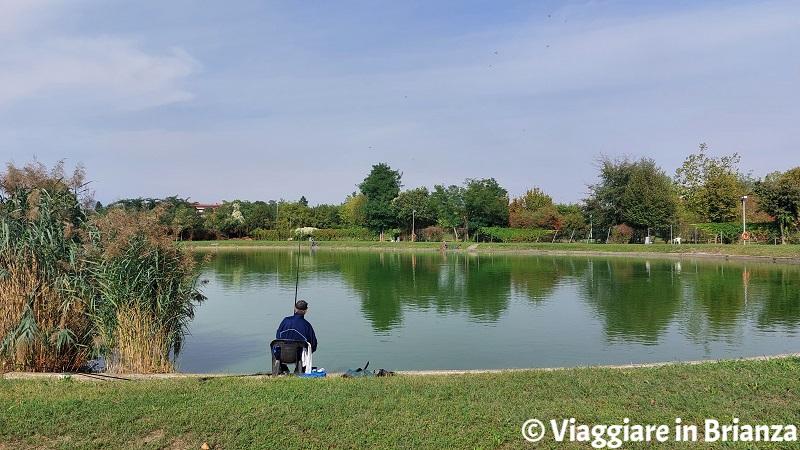 Come pescare al Laghetto della Boscherona di Monza